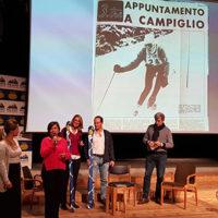 (da sx): Sabrina Frizzi, Loredana Bonazza, Laura Agnoletto, Marco Guazzoni, Maurizio Evangelista durante l'evento 3Tre