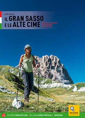 Copertina del libro Gran Sasso e le alte cime di Luigi Tassi