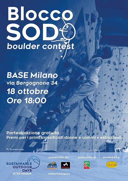 Blocco SODo boulder contest