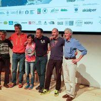 Sustainable Outdoor Days a BASE | Max della Porta presenta Oliviero Bosatelli, quest'anno vincitore per la seconda volta del Tor de Géants. Presente sul palco anche l'atleta Marina Plavan.