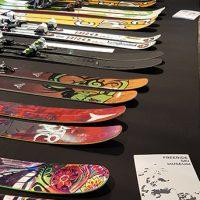 Sustainable Outdoor Days a BASE | Alcuni sci in esposizione nel Freeride Ski Museum