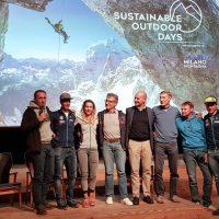Sustainable Outdoor Days a BASE | Michele Boscacci, Marco Camandona, Alba De Silvestro & Nadir Maguet sul palco con Max Della Porta presentano il Tour du Rutor